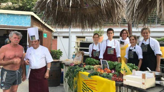 Scuola di cucina in riva al mare col progetto spiagge - Cucina al mare ...