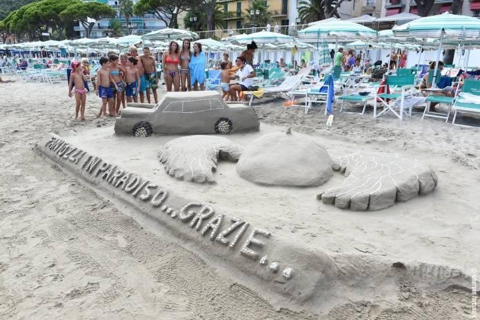 Alassio castelli di sabbia vincono i bagni lido con - Bagni lido andora ...