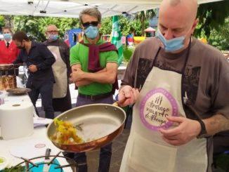 Show cooking Asparago Violetto di Albenga