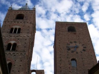 Albenga old town - the famous towers