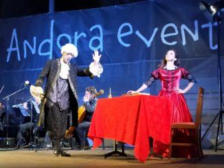 Andora - stage in Tagliaferro Gardens