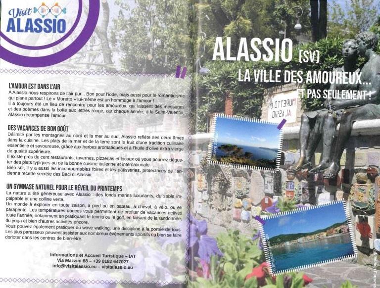 Alassio shopping streets