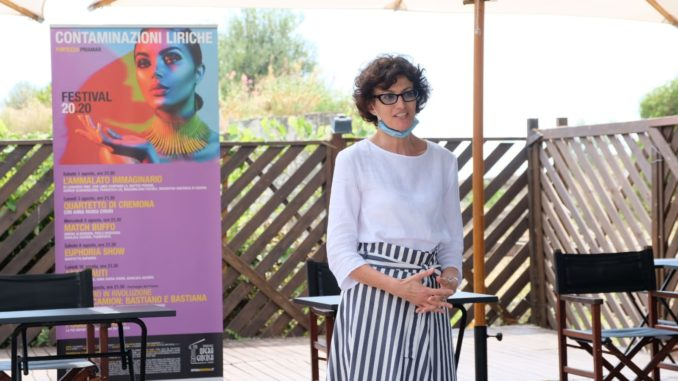 The Mayor of Savona Ilaria Caprioglio - Lyrical Contaminations Festival