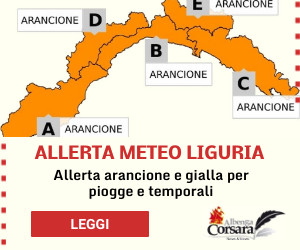 Featured News Allerta Meteo Liguria emesso da Arpal
