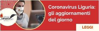 Notizie Dati e bollettino Coronavirus Regione Liguria e Alisa
