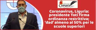Featured news Nuova ordinanza 72/2020 di Regione Liguria restrizioni anti-covid