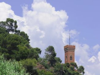 Borghetto Santo Spirito -castillo