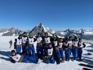 Liguria nuevos instructores de snowboard