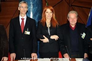 Marcel Leist Michela Vittoria Brambilla Claude Reiss  Roma 13-1-2013