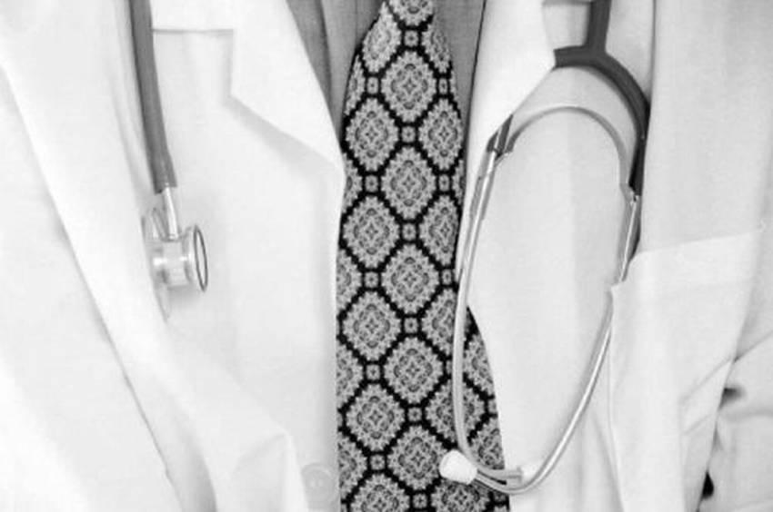 camice bianco stetoscopio xG00