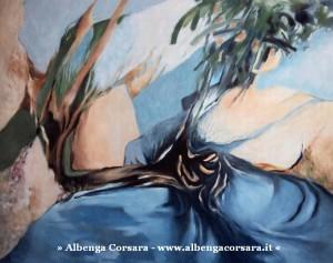 1 Savona Mostra AURORA SUL MARE OLIO SU TELA
