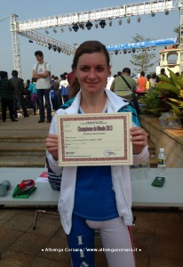 Elisa Picollo campionessa mondiale di Kick Boxing 2013
