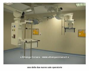 Ospedale San Giuseppe di Cairo - nuova sala operatoria
