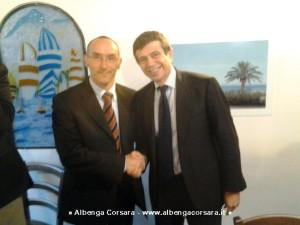 Paolo Morelli e Maurizio Lupi  Andora 7-2-2014