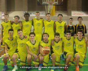 Under 17 Alassio Basket 2014