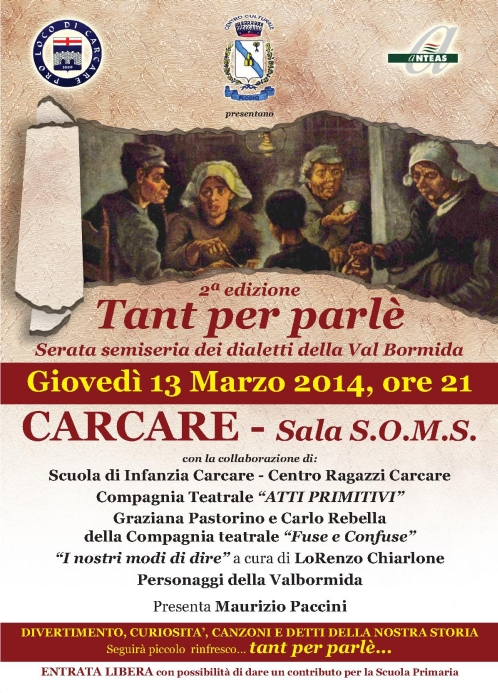 Dialetto Carcare 2014 loc