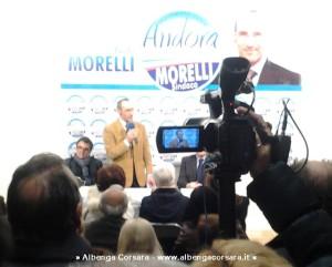 Paolo Morelli inaugurazione Sede Elettorale Andora 5-3-2014