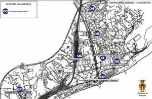 Savona bike sharing mappa 00
