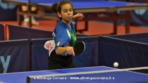 Valentina Roncallo con la maglia della nazionale italiana