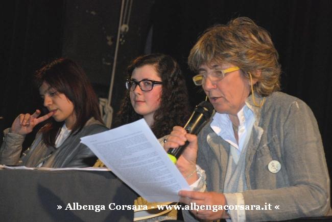 3 Albenga - C'era una svolta - Paola Mastrocola premiazione 12-4-2014