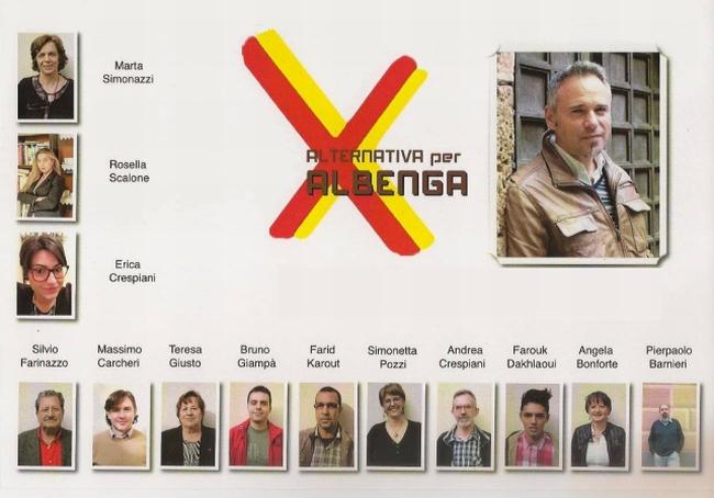 Alternativa per Albenga - I Candidati