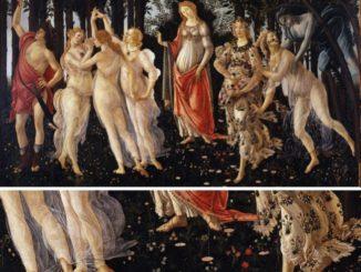 Botticelli Primavera e part e1476874883899