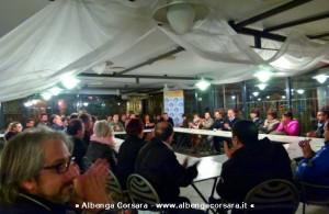 Demichelis Incontro con i commercianti elezioni Andora
