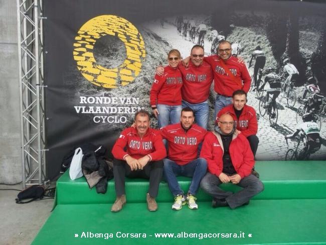 Sette atleti Ortoveresi all'edizione cicloturistica del Giro delle Fiandre