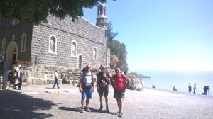 Tabgha chiesa della mensa christi
