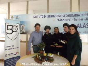 Team chef in gara a Spoleto Olive cooking