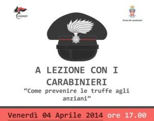 locandina Carabinieri