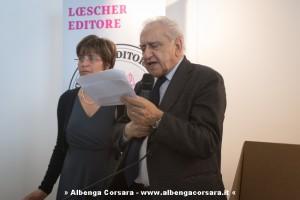 Francesco Sabatini alla premiazione