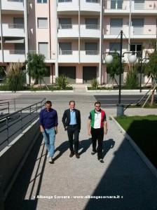 Il neo sindaco Mauro Demichelis si insedia in Comune ad Andora 27-5-2014