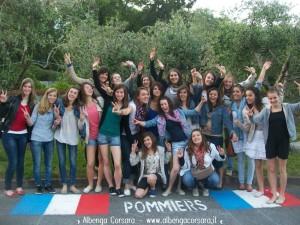 Toirano Giardini Pommiers ragazze maggio 2012