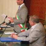 4 Savona 25 6 2014 lettura encomio sindaco Berruti e Scardaoni