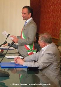 4 Savona 25-6-2014 - lettura encomio  sindaco Berruti e Scardaoni