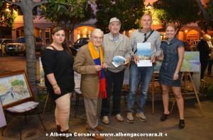 Carlo Tirone vince il concorso di pittura estemporanea Le cafe des artistes 1-6-2014