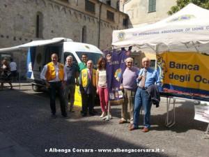 Lions Club Albenga Host in Piazza IV Novembre Albenga 8-6-2014