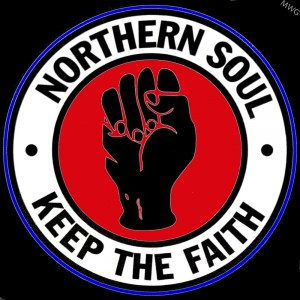 Northern Soul, keep the faith in red-600x600