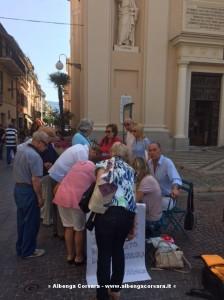 Raccolta firme Pietra Ligure 8-6-2014