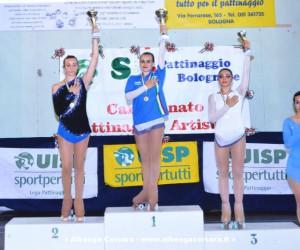 Simona Stalla podio