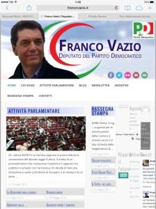Franco Vazio Web