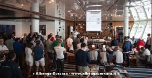 Il briefing allo YC Marina di Loano