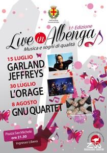 Live in Albenga 2014