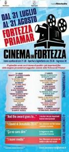 Locandina Cinema in Fortezza 2014
