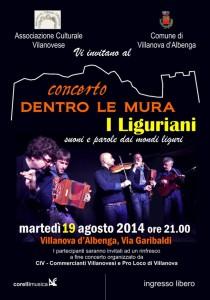 Liguriani Villanova 2014