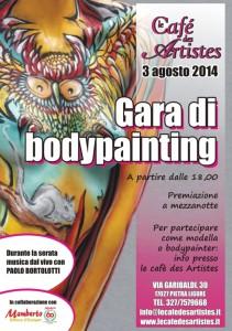 bodypainting Pietra 3 agosto