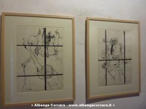 due disegni di Agenore Fabbri