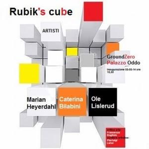 rubik's cube mostra Oddo