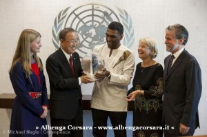 Ban Ki-moon receives Greenpeace delegation